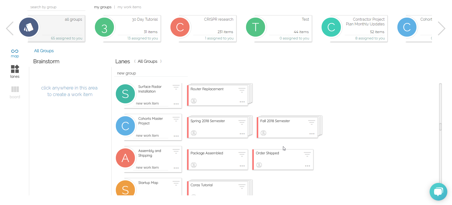 Organize your work - plan and track performance