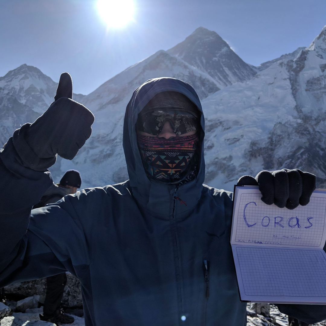 CORAS at MT Everest