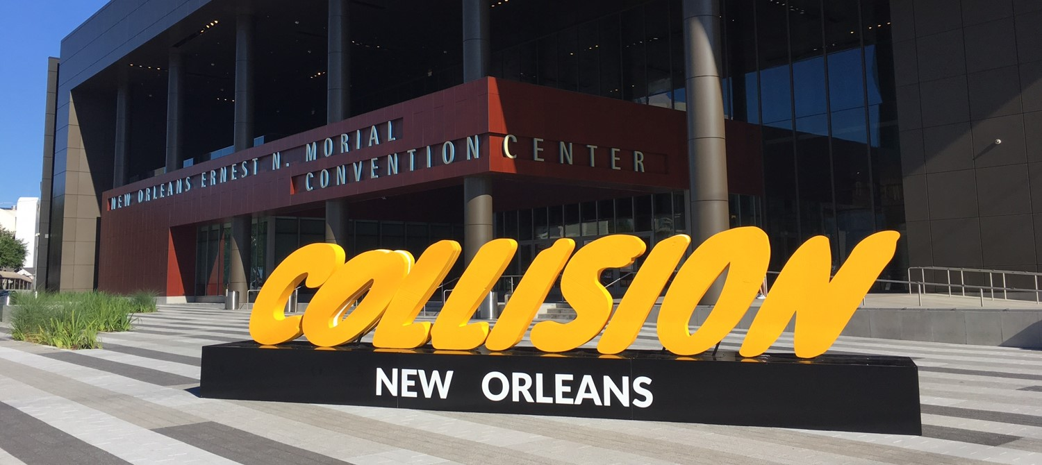 Coras featured as Growth Startup at 2018 Collision Growth Summit Conference New Orleans