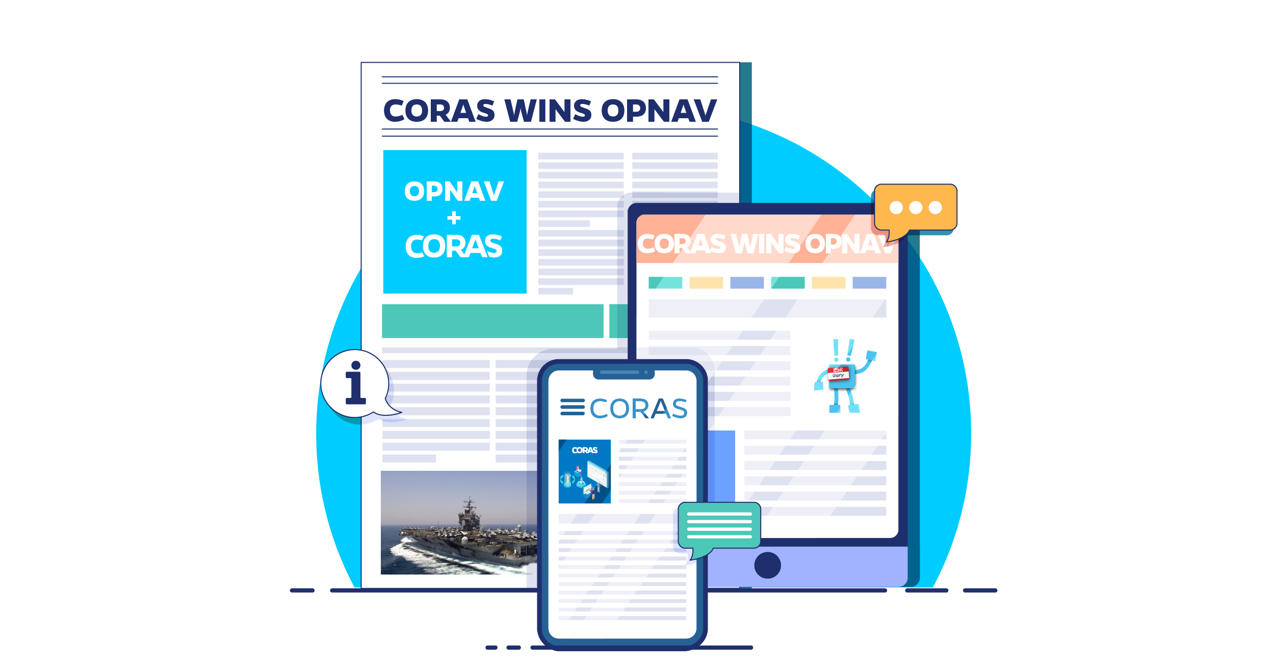 CORAS® Wins New US Navy Contract to Expand Its Footprint in OPNAV
