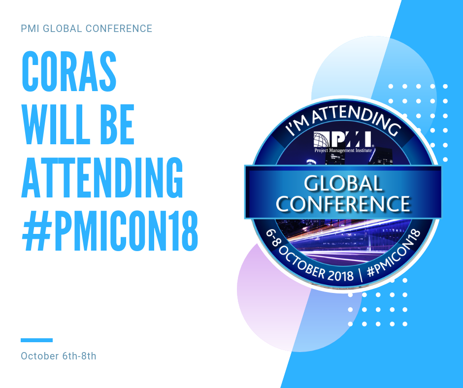 Coras Heads to PMI Global Conference-Los Angeles 2018