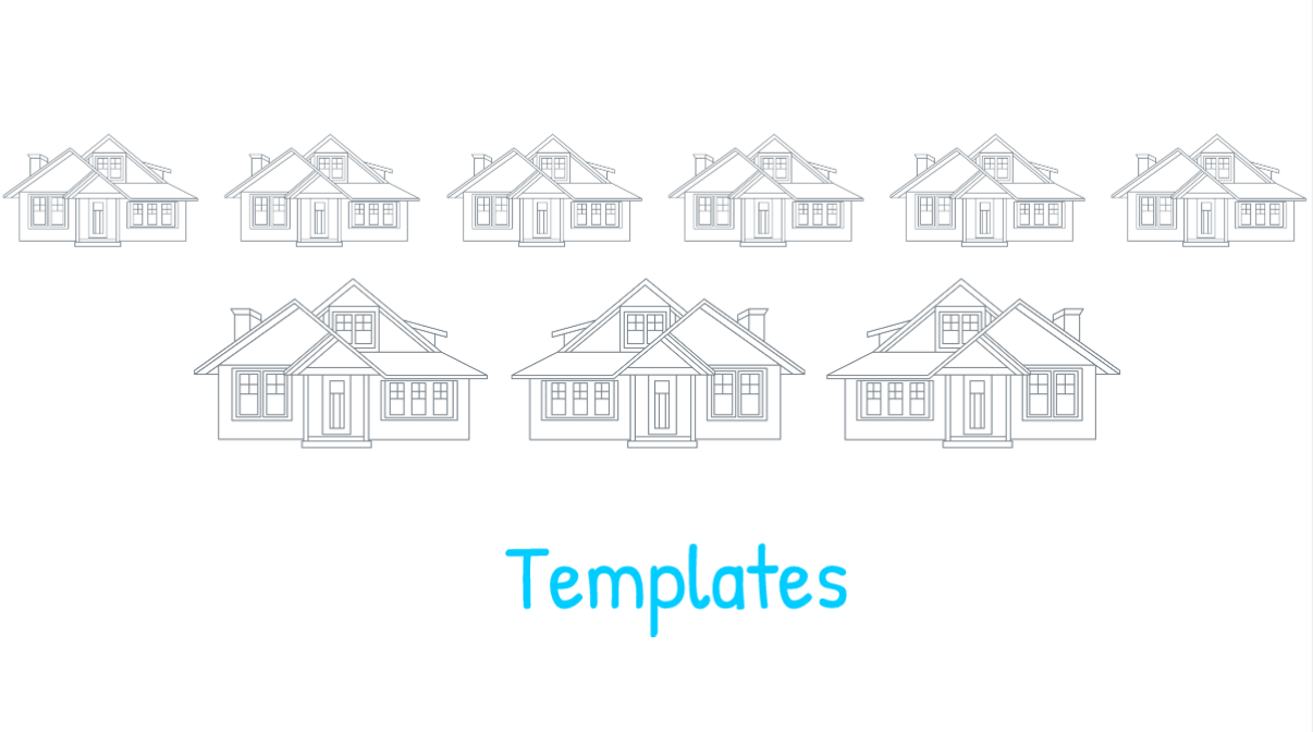 What are CORAS Templates?